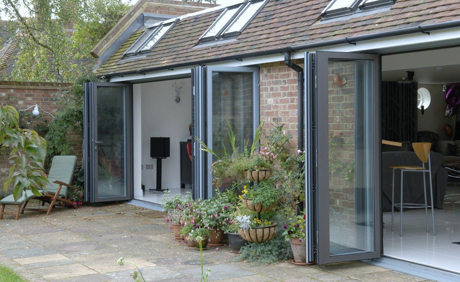 Aluminium bi-fold doors Ferndown